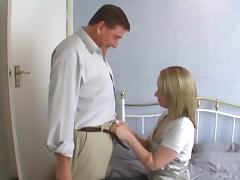 Amateur babe enjoys being drilled Hardcore in old and young scene