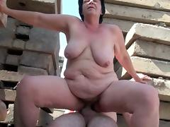 BBW grannies loves getting fucked hard and rough.