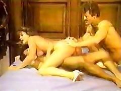 Sheri St. Claire, John Holmes, Jon Martin in classic sex movie