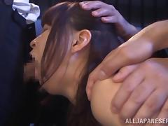 japanese slut gets gangbanged in prison