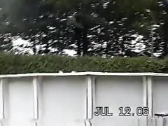 Sd - milf colette fucks her man franco in the garden