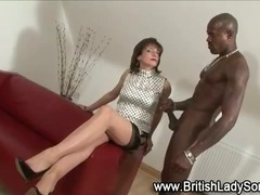 Femdom fetish slut Lady Sonia gets ready for interracial fucking