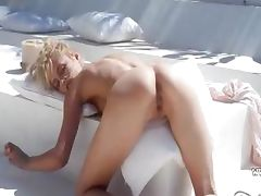 sweet dream of beautiful wow blonde