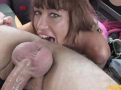 Suhaila in Spanish tits and English big dick - FakeTaxi