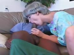 Busty Mature Whore Works A Black Prick