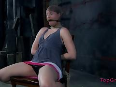 Bronte is now just a prisoner in the basement of her horny mistress