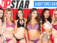 Alexa Grace & Anya Olsen & Lily Adams & Nina North in DP Star 3 Audition Episode 1 - DigitalPlayground