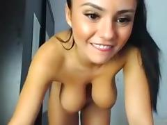 Exotic Homemade movie with Brunette, Solo scenes