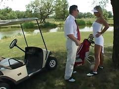 Golf cart fuck