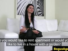 Real casting amateur fucked during audition