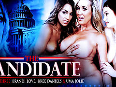 Bree Daniels & Brandi Love in Three way Lesbians! - SweetheartVideo
