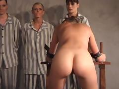 Good hard brutal caning
