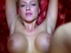 Busty amateur babe banged in hotel room with nympho stranger