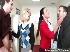 Two sexy and horny office girls attacked part5