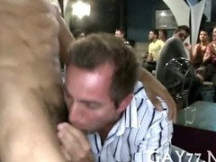 Fucking him at big party