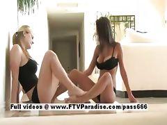 Shae spiritual lovely blonde lesbian teenages licking