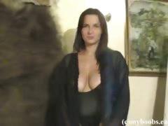 Jastin Erato in balck lingerie