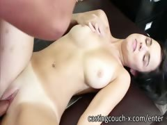 Amazingly sexy natural babe Dillion Harper fucks on casting