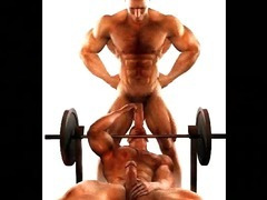 3D Muscled Gay Angels