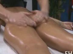 Hottie sucks after sex
