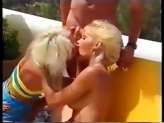 Helen Duval Anita Blond Hot Blonds Anal and Cumswap