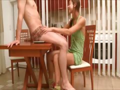 Natashas banging adventure on the table