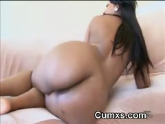 Big Ass Ghetto Booty Fingered And Fucked