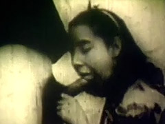 Pastor gets His Cock Sucked and Fucked by Young Girl 1930