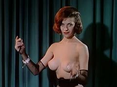 Entertaining Striptease of Saloon Girls 1960