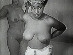 Erotic African Dancers get Naughty 1940