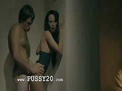 brunette fucking in motel room