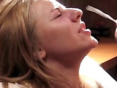 Facial on a gorgeous blonde