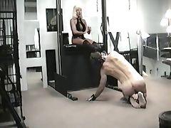 Discipline of a slave Clip