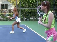 Janet Mason tennis court fuck