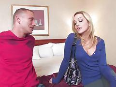 Beautiful Blonde Pornstar With Huge Ass Alexis Texas Riding a Cock