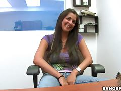 Busty Alabama Persia gets fucked at the interview
