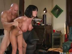 While Courtney Cummz Blows a Black Cock Nikki Benz Fucks a Big Dick