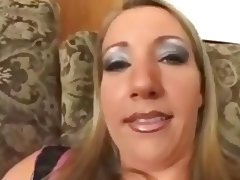 Barbara gets dp and swallow cum