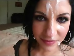 Tori Lux's Huge Facial