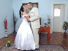 Scandalous sex with Wild Devil on the Wedding day