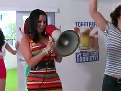 Bbn dorm invasion pornstars crash another party