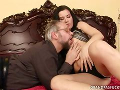 The aged German teacher gets to ram his rod home with the hot student