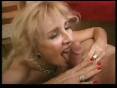 Blonde Mature Likes Everything