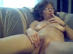 64 yo sweet sexy granny with long hair