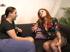 Kimberly Scott and Talullah Tease in passionate fisting video