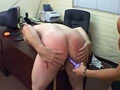Aged chap receives wazoo spanked and screwed