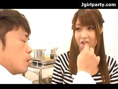 Japanese Teen Has A Very Thorough Doctor Exam