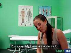 Hot MILF Valentina sexual affair with doctor