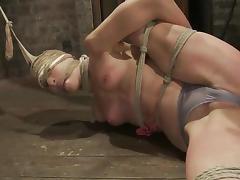 No mercy for a kinky and naughty sex slave Amber Rayne