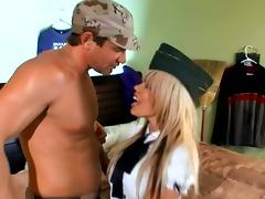 Blonde Gia Paloma With Big Tits Fucked Missionary And Getting Cum On Tits